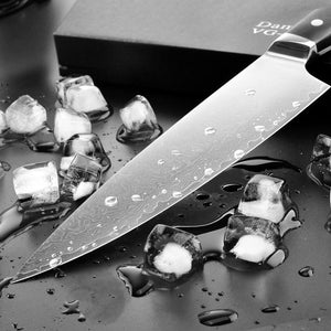Steel Knives - Chef Knife Damascus Japanese Steel With VG10 Handle - 70% OFF
