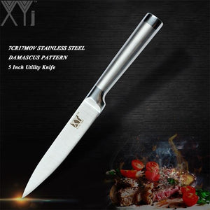 High Carbon Japanese Stainless Steel Kitchen Knives all styles