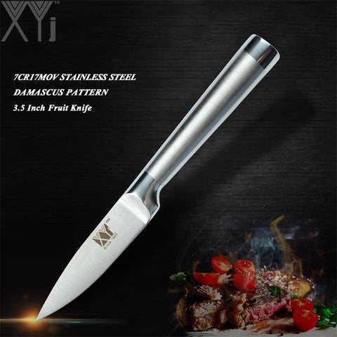 Image of Steel Knives - High Carbon Japanese Stainless Steel Kitchen Knives All Styles