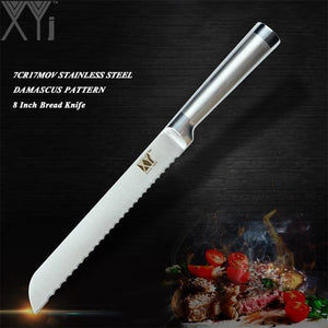 Steel Knives - High Carbon Japanese Stainless Steel Kitchen Knives All Styles