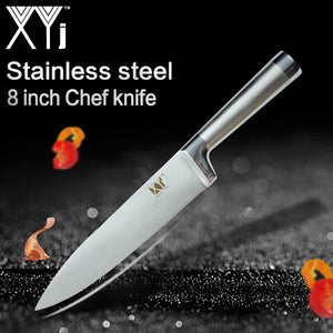 Steel Knives - High Carbon Stainless Steel Top Quality Professional Knife 3/4/5/6/7/8 Inch Styles