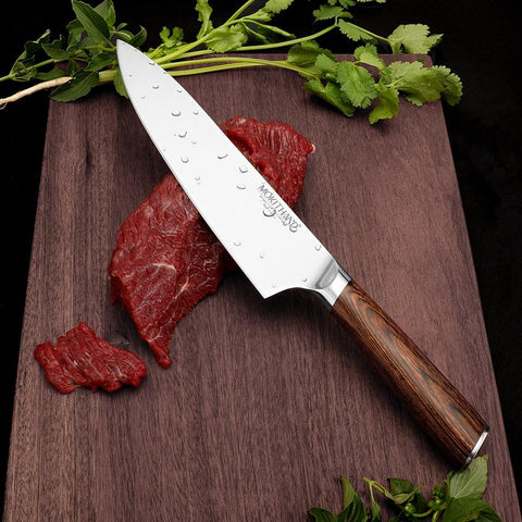 Image of Steel Knives - Japanese Chef Knives Set High Carbon Steel Vegetable Utility Knives