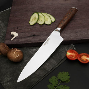 Steel Knives - Japanese Chef Knives Set High Carbon Steel Vegetable Utility Knives