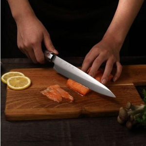 Steel Knives - Liang Da Sashimi Knife 5Cr15Mov High Quality Professional Stainless Steel Set