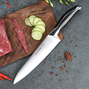 Steel Knives - New Top Grade Sharp Quality 8'' Inch Frozen Meat Cutter Chef Knife