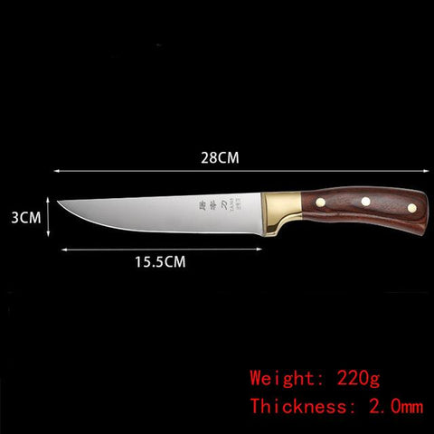 Image of Steel Knives - Sharp Stainless Steel Professional Boning Knives