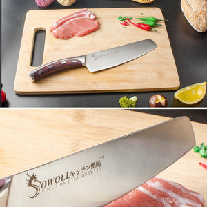 Steel Knives - Stainless Steel Kitchen Knife Set Chopping Chef Knives Set - Excellent Gift