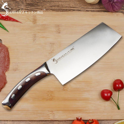 Steel Knives - Stainless Steel Knife 7 Inch Chopping Knife Non-stick Cooking Tool Very Sharp Durable