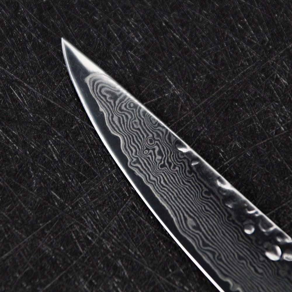 Steel Knives - Super Sharp Damascus 6 Inch Boning Chef Knife- VG10 73-Layers