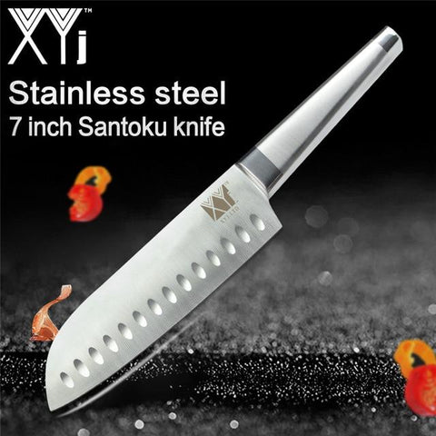 Image of Steel Knives - Ultra Sharp XYJ Germany Stainless Steel Set