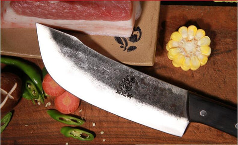 Image of Steel Knives - XITUO Forged Boning Knife Manual Split Knife German Tungsten Steel Chef Knife