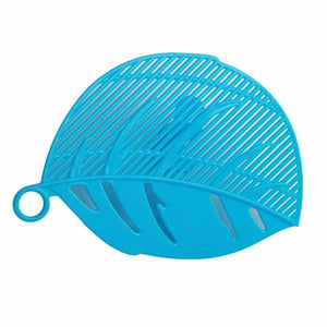 1PC Leaf Shape Durable Clean Clips Strainer