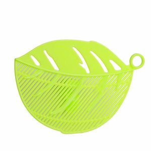 Strainer - 1PC Leaf Shape Durable Clean Clips Strainer