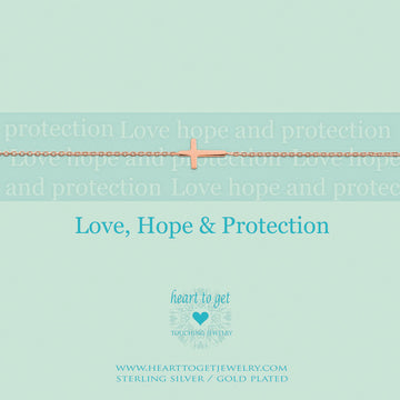 LOVE, HOPE, PROTECTION | Armkettchen