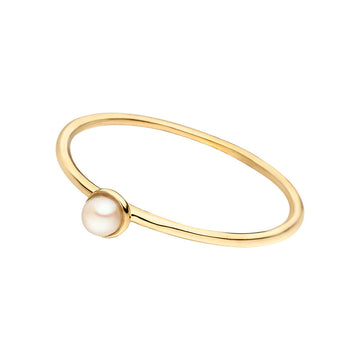 LEAF | Stacking Ring Perle