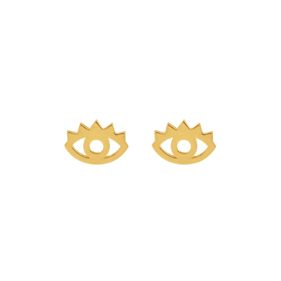 EVIL EYE gold | Ohrstecker