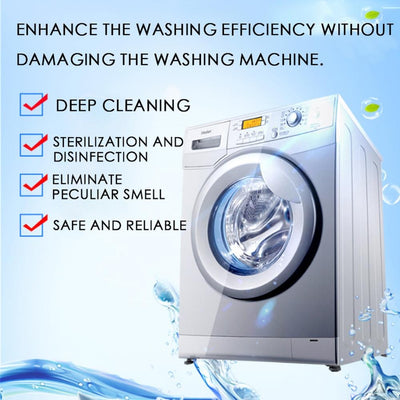 TabClean™ - Washing Machine Cleaner Tablets
