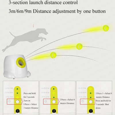 FetchPro™ - Automatic Ball Launcher