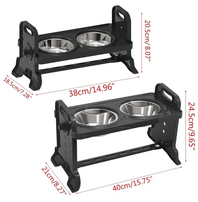 FeederPro™ - Elevated Dog Bowl Dish