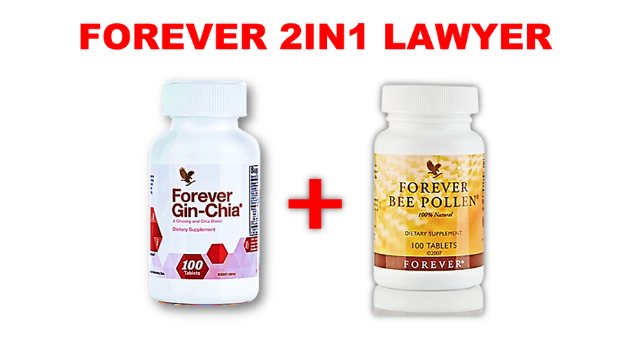 Forever 2 in 1-benefit of bee pollen & ginchia