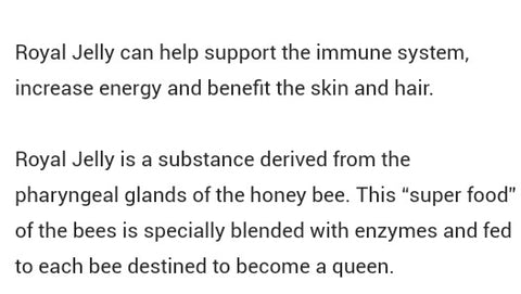 News and benefits on royal jelly- the beauty mall - Sonni health