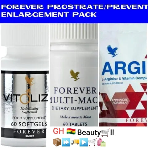 Forever prostate enlargement solution remedy