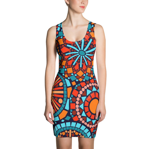 African  Cut & Sew Dress