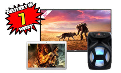 "LAD 32"" HD Smart TV & Ministry 007 Speaker & 10"" Dual SIM 3G Tablet combo fast delivery - Layaway Depot AUS"