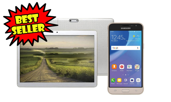 Samsung Galaxy Sol 4G LTE Unlocked 8GB + Pad 10 Tablet  Combo