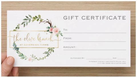 Olive Branch E-Gift Card