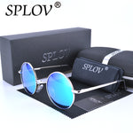 Designer Classic Polarized Driving Round Sunglasses Men Retro John Lennon Glasses Women Metal Fashion Eyeglasses