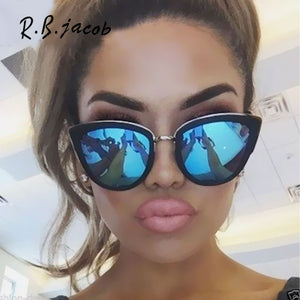 New Style Cat Eye Women Sunglasses Summer Hot Sale Fashion Lady Sun Glasses For High Quality Vintage Designed UV400