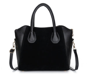 2018 fashion black women bag women handbag