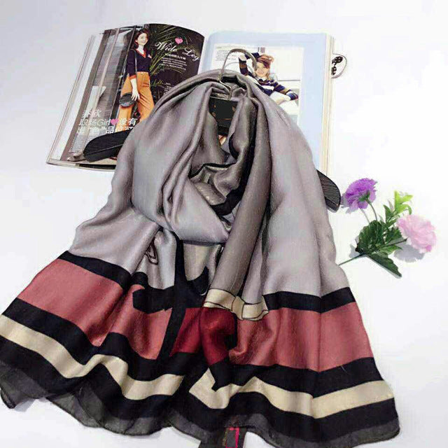 2018 brand scarf Cashmere feeling luxury pashmina winter women Scarves shawls wraps lady Autumn All-match bandana foulard hijab