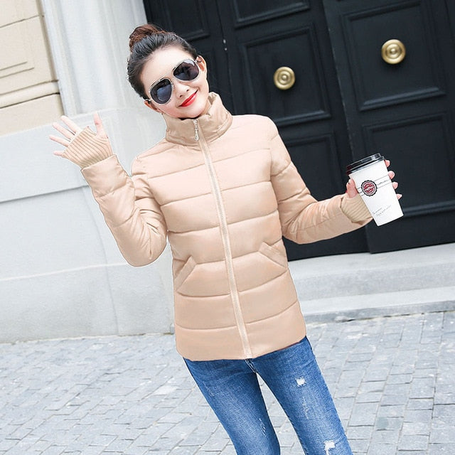 2018 New style Winter Jacket Women Coats Thicken Warm Jacket Female Parka Thick Cotton Padded Lining Winter Coat Ladies S-3XXXL