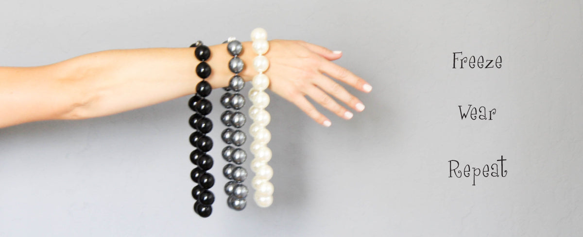 Hot Girls Pearls A Line Of Body Cooling Jewelry