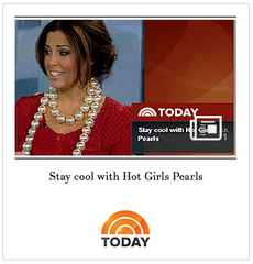 Hot Girls Pearls The Today Show