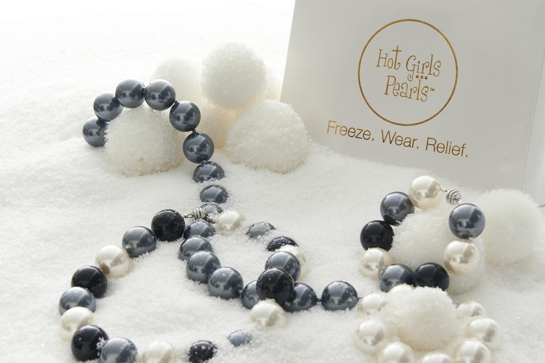 Freezable cooling jewelry - Hot Girls Pearls