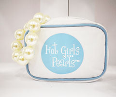 Hot Girls Pearls Travel Pouch