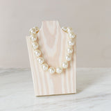"Ivory White 18"" Necklace - hotgirlspearls"