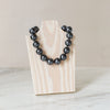 "Sterling Grey 16"" Necklace - hotgirlspearls"