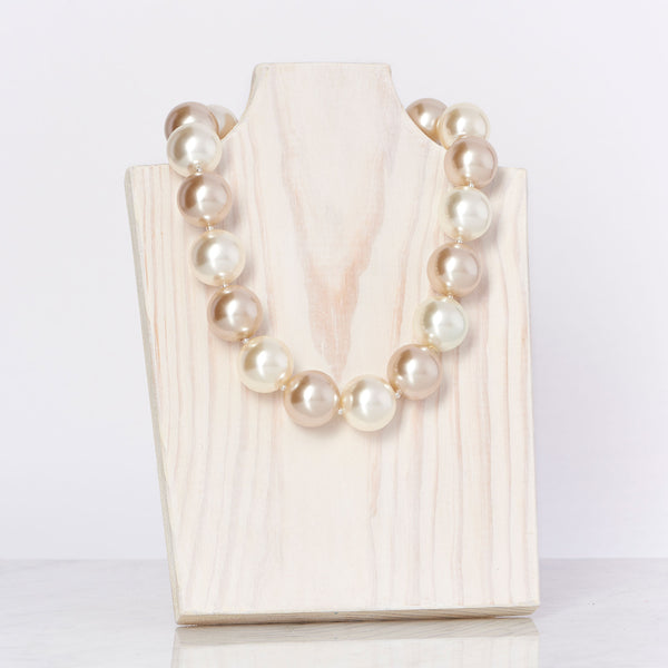 Ivory/Champagne Necklace