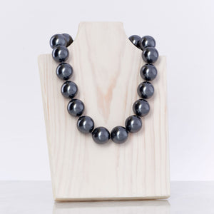 Sterling Grey Necklace