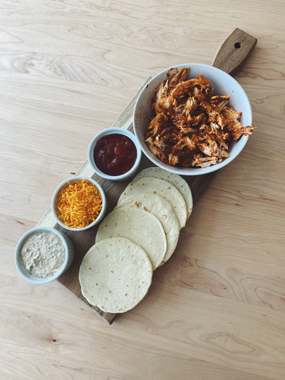 *Fresh* Buffalo Chicken Tacos