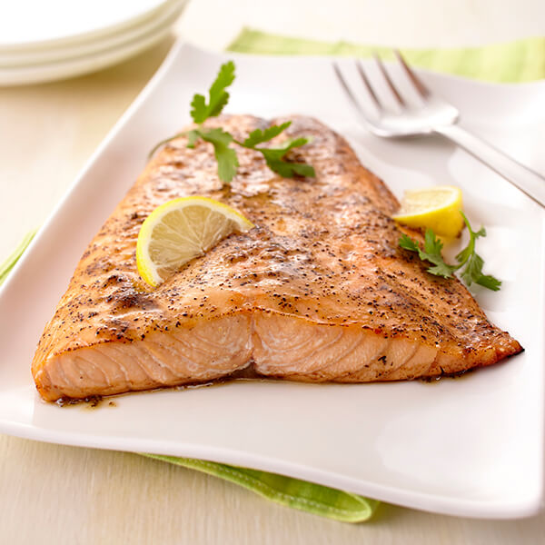 Lemon Pepper Roasted Whole Fillet of Salmon