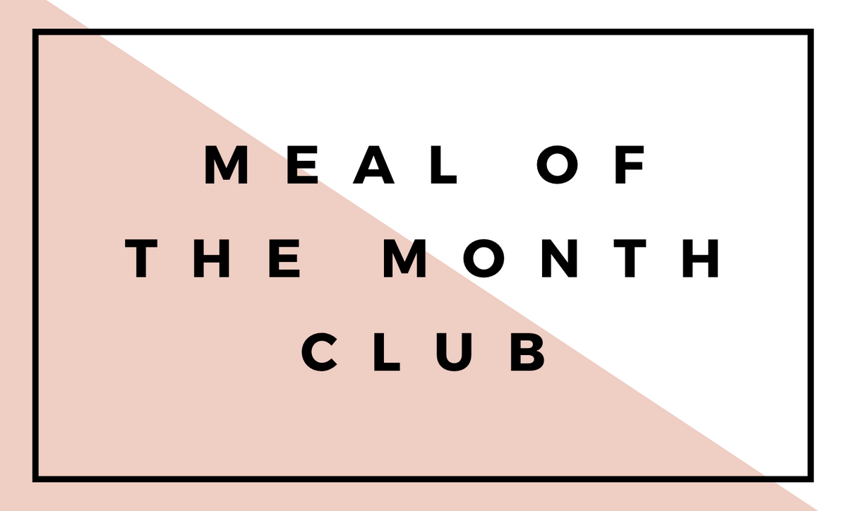Meal of the Month Club