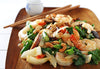 Ginger Shrimp with Chinese Broccoli (Gai Lan)