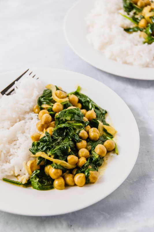 Golden Chickpea Curry