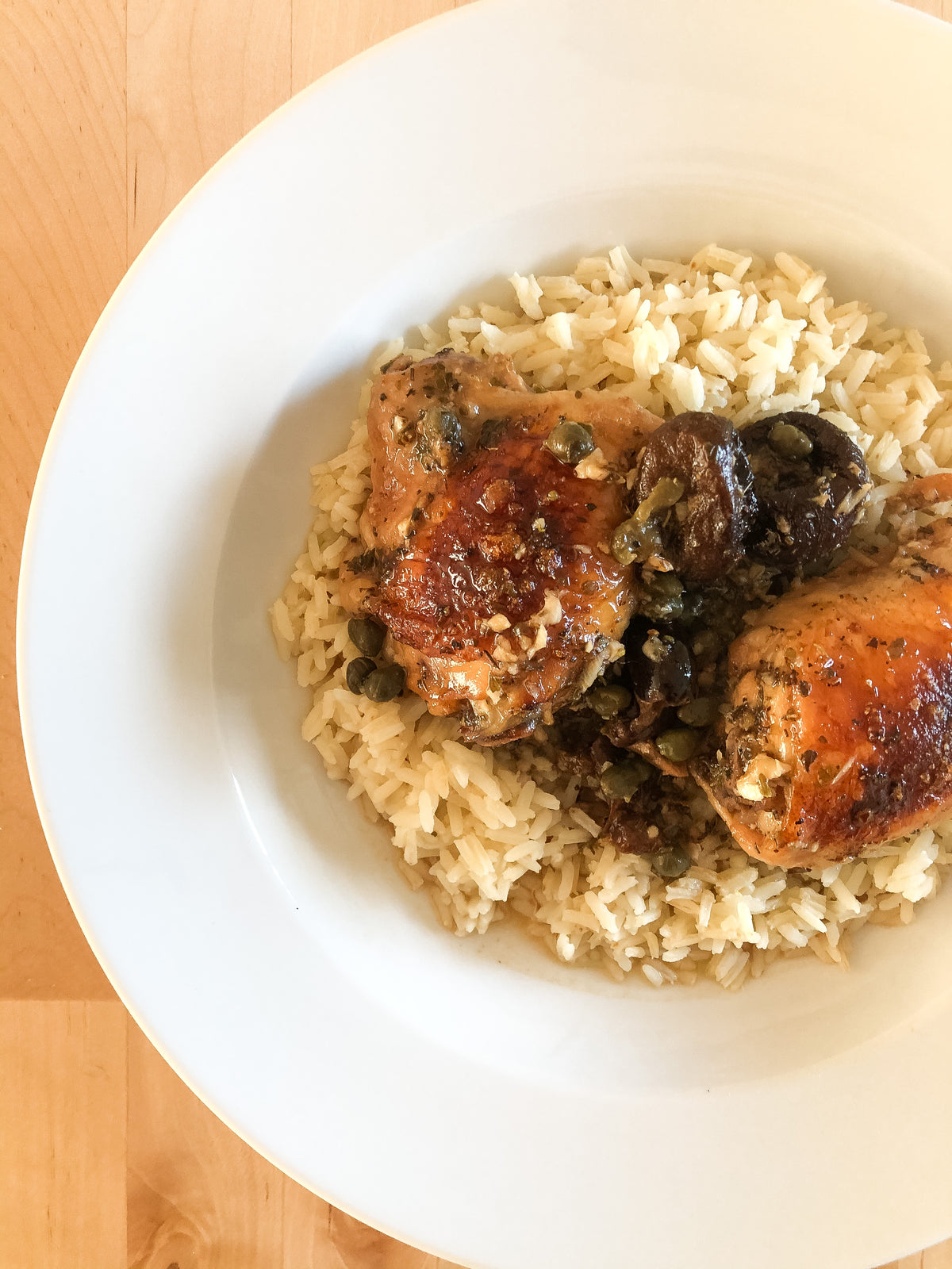 Mediterranean Chicken with Rice