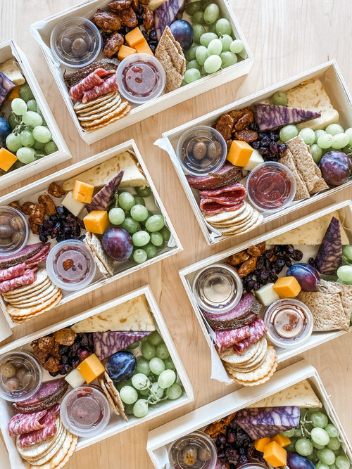 Personal Cheese & Charcuterie Boxes